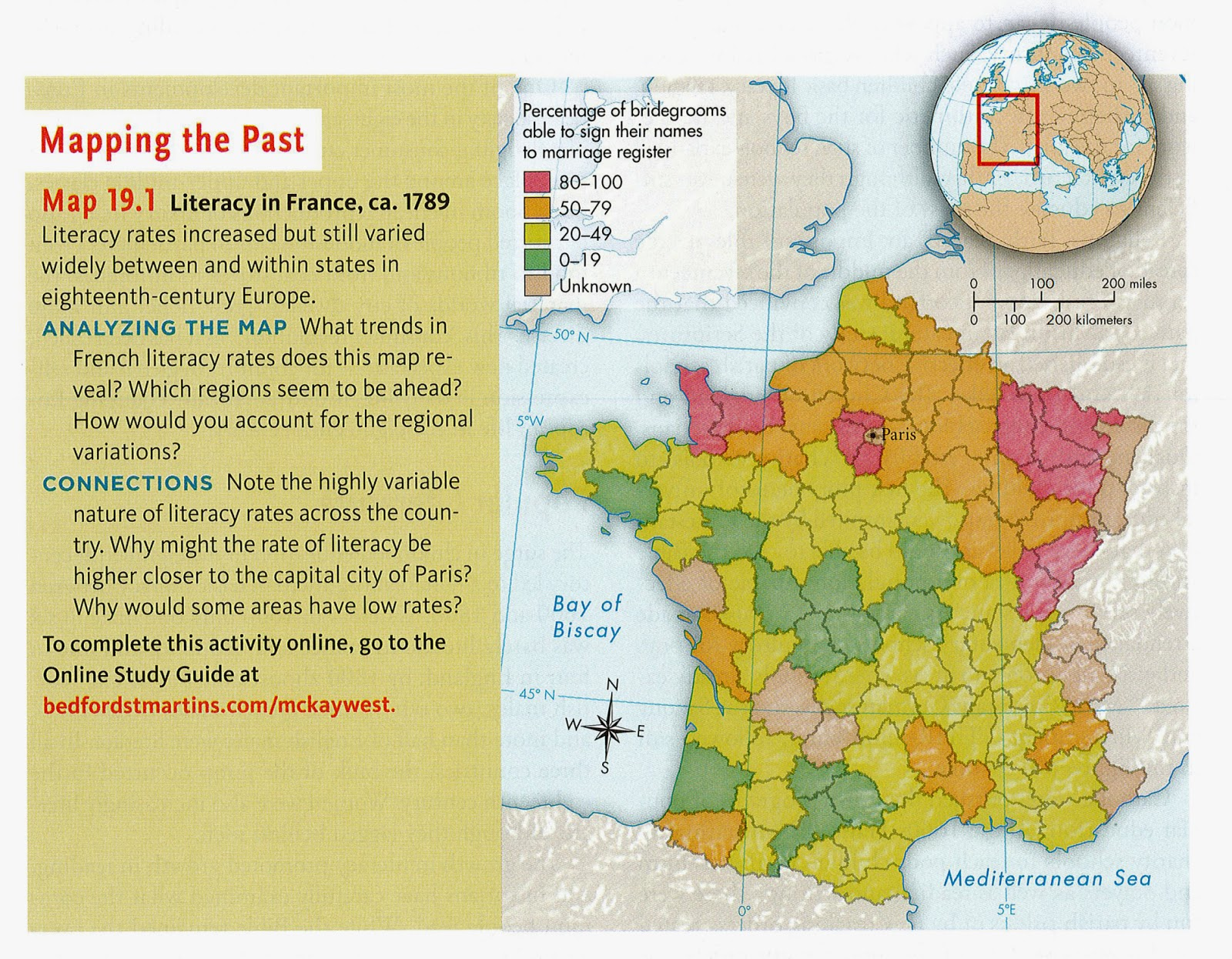 source 10 literacy rates in france