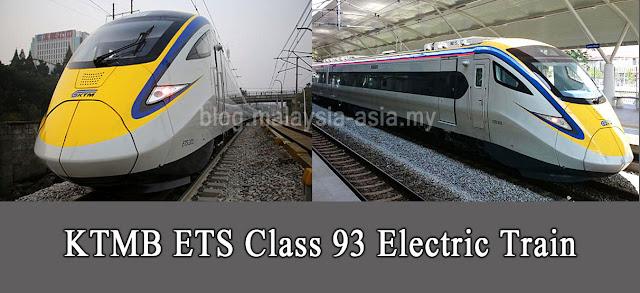 Malaysia ETS Class 93 Train