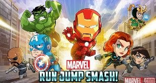 Download Marvel Run Jump Smash! APK Android 2014