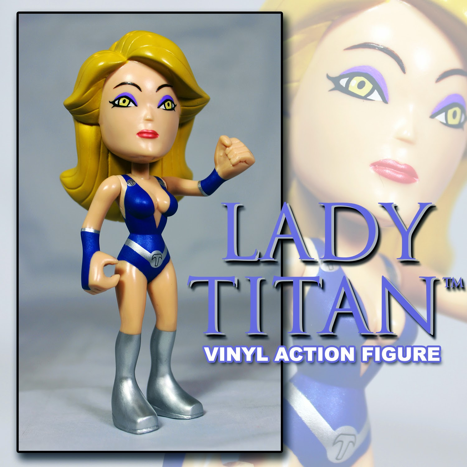 """Lady Titan"" My Hero Toys Vinyl Figure by Tanya Tate"