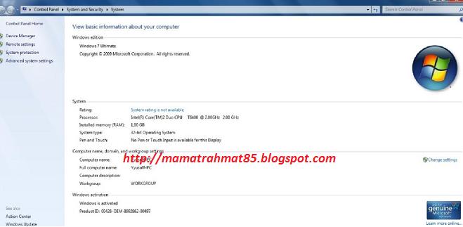 Kumpulan Tool Aktivasi Windows 7