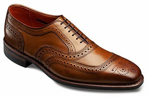 Allen Edmonds University Walnut Leather