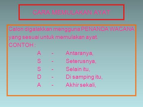 Mari Belajar Bahasa Malaysia Membina Ulasan Berdasarkan Petikan