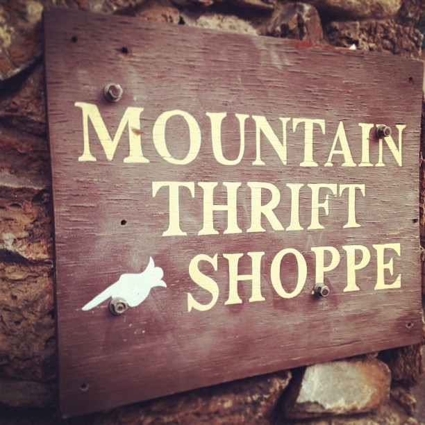 mountain thrift shoppe