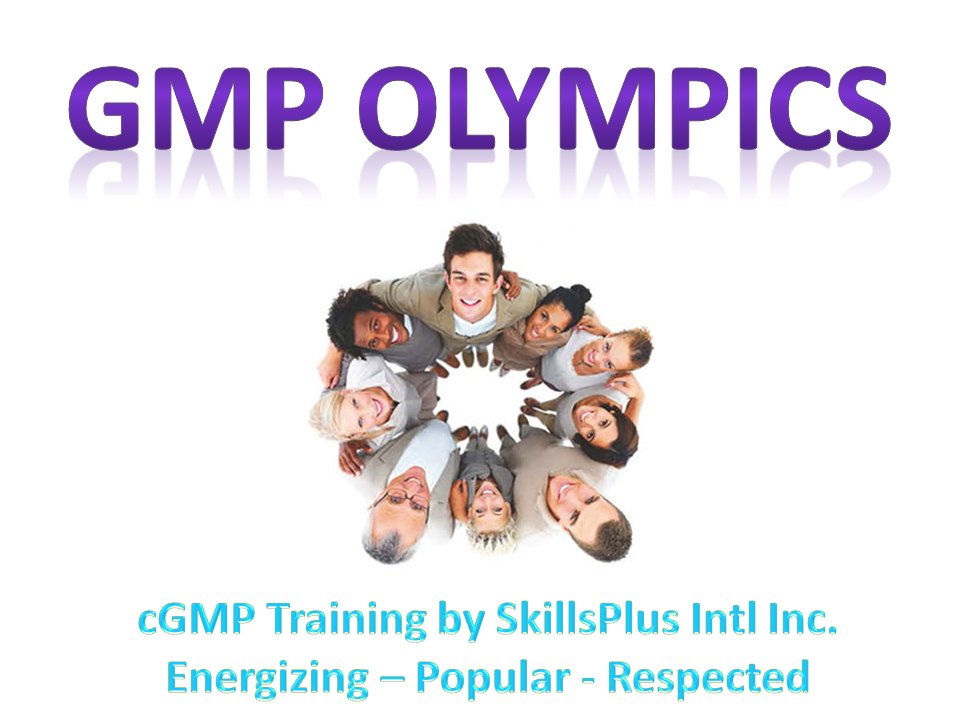 cGMP Olympics - GMP Training