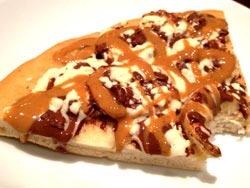 cara buat pizza cokelat selai kacang enak dan lezat