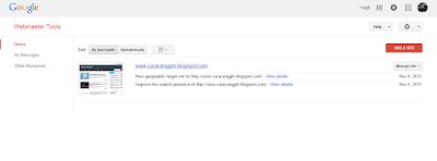 cara submit artikel ke google dengan mudah
