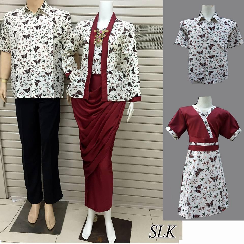 Baju Batik Keluarga Slk