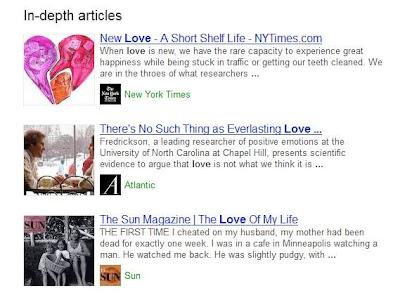 In-Depth Article- Love