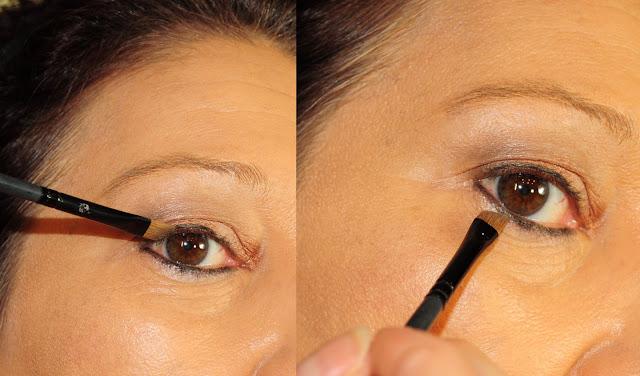 Eyeliner verblenden