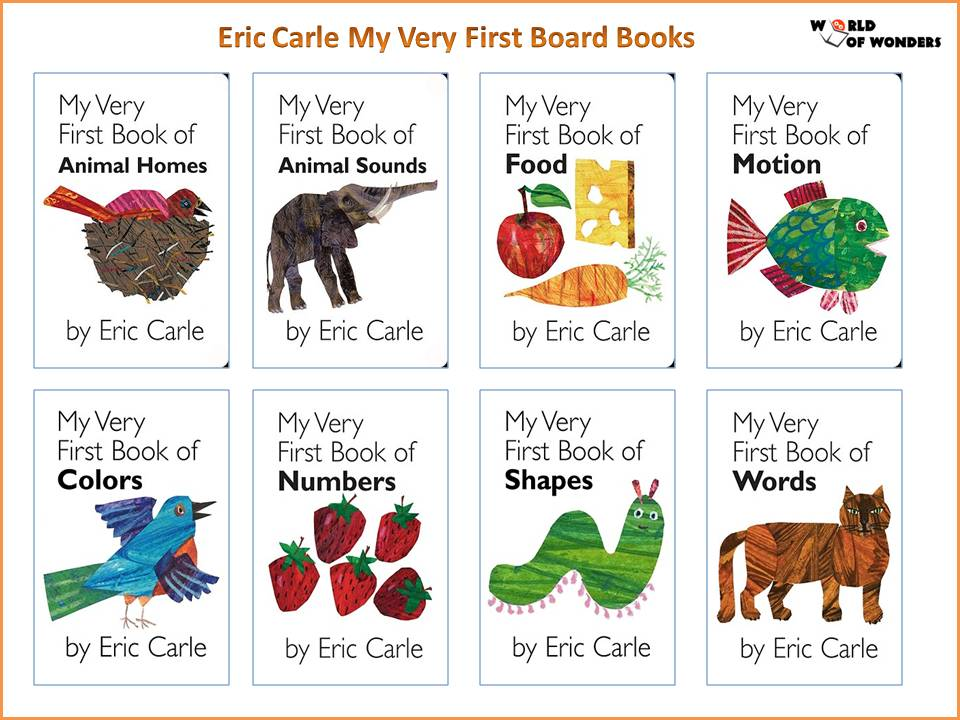 World Of Wonders: Eric Carle Collection (Over 40 Titles Available!)