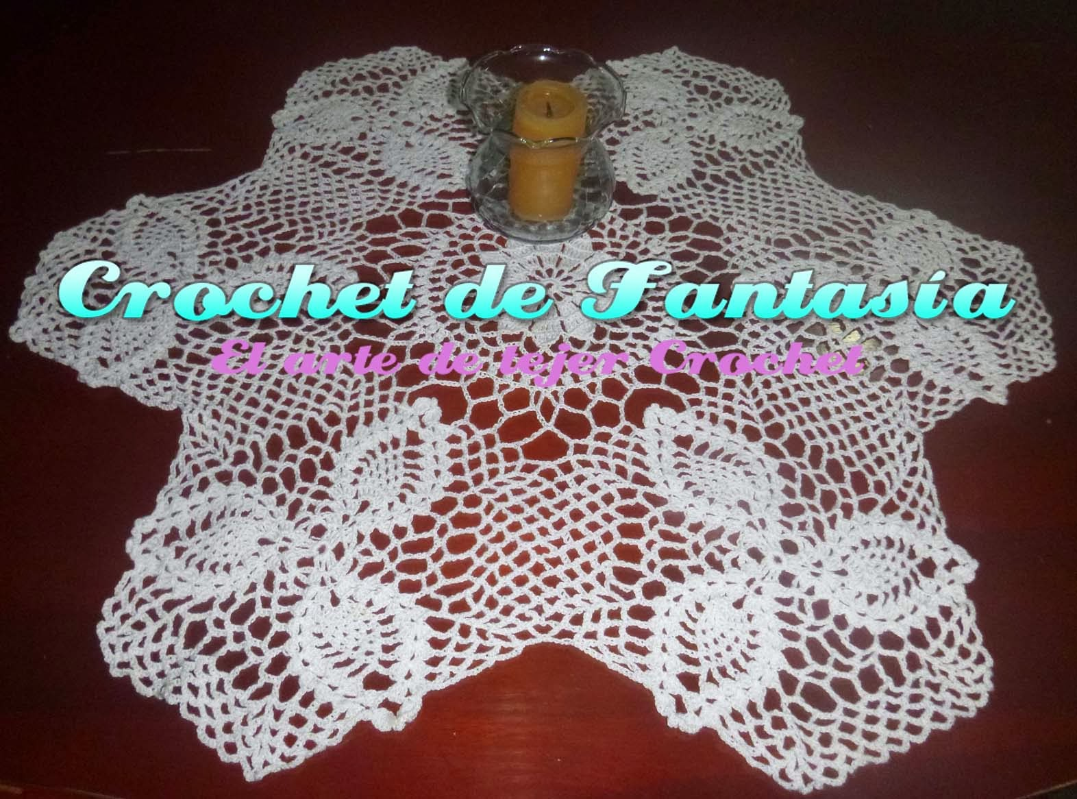 Crochet, ganchillo, mantel, carpeta, tejido, color blanco.
