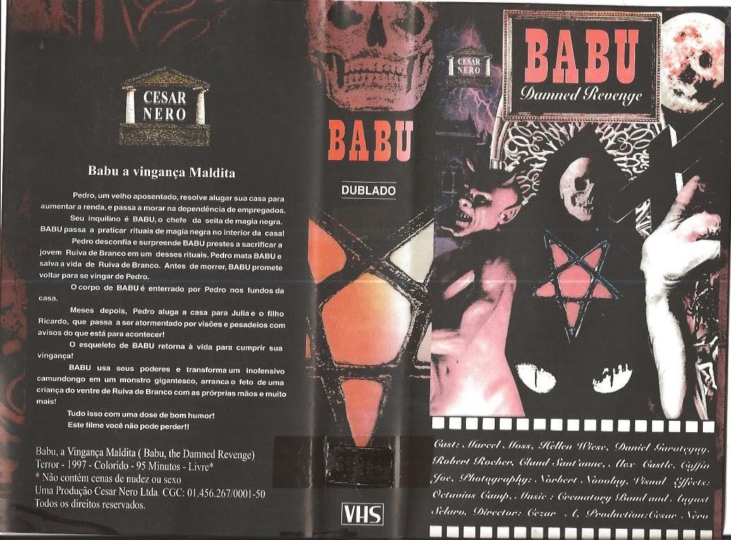 Resultado de imagem para Babu, a vingança maldita (1996)