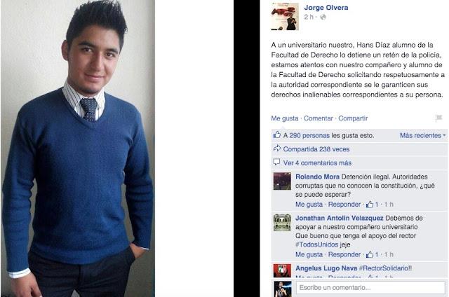 Estudiante Facebook