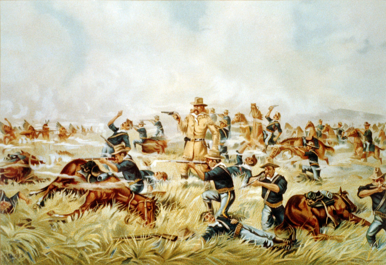 The graber blog george custer s defeat at the little bighorn