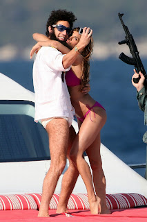Elisabetta Canalis hot bikini self shot Sacha Baron Cohen The Dictator HD HQ pics