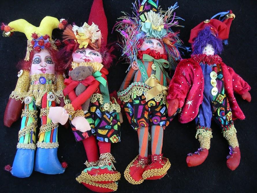 Little Clown dolls