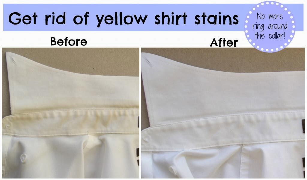 How to Remove Yellow Shirt Stains