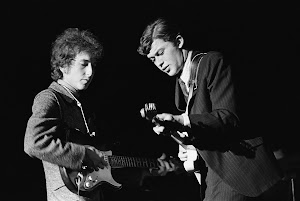 Robbie Robertson and Bob Dylan