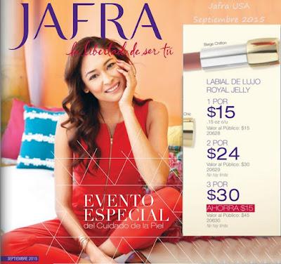 Jafra USA Ofertas Septiembre 2015