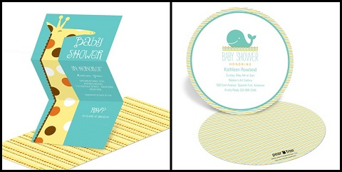 fun baby shower invitations