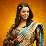 Bhavana Style in Cute Saree Pics