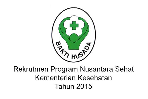 Rekrutmen Program Nusantara Sehat Kementerian Kesehatan Tahun 2015