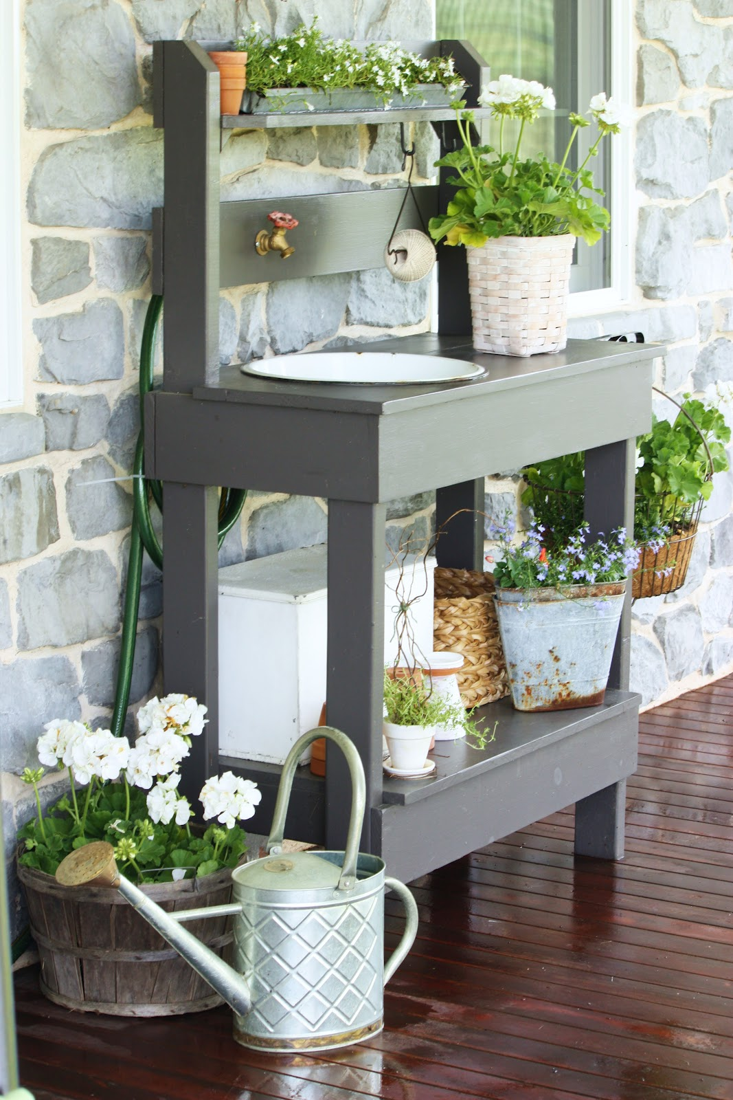 The Potting Table  Stonegable. Half Round Console Table. Itrs Help Desk. Computer Monitor Desk Mount. Youth Desk White. Nespresso Drawer. Expandable Desk Drawer Organizer. Outside Ping Pong Table. Black Iron Drawer Pulls