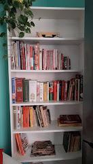 Alcuni dei miei libri di cucina
