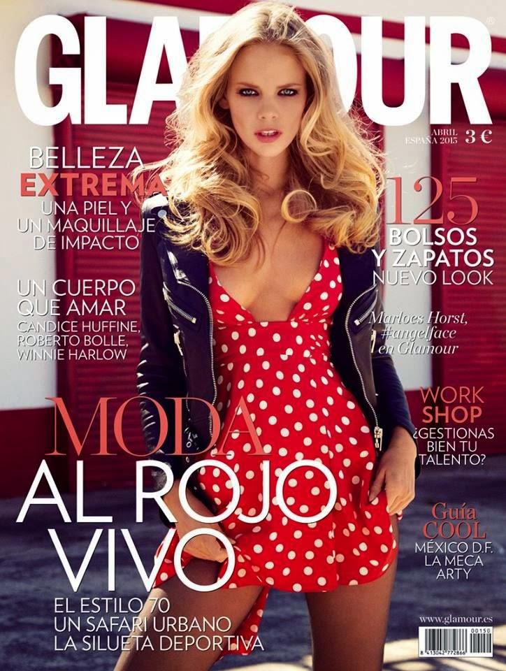 Model @ Marloes Horst - Glamour Spain, April 2015
