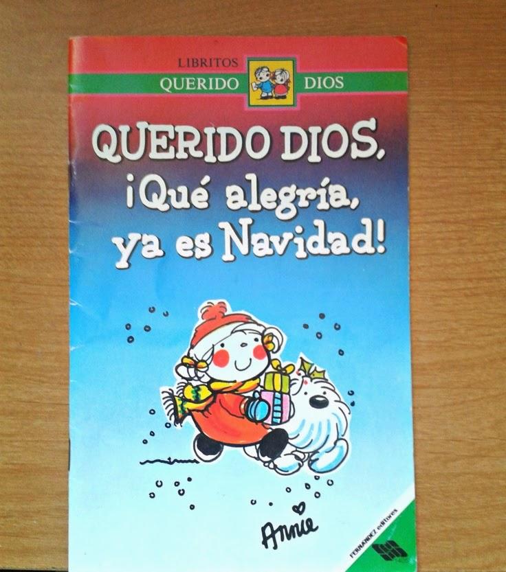 Querido Dios, ¡Qué alegría, ya es Navidad!
