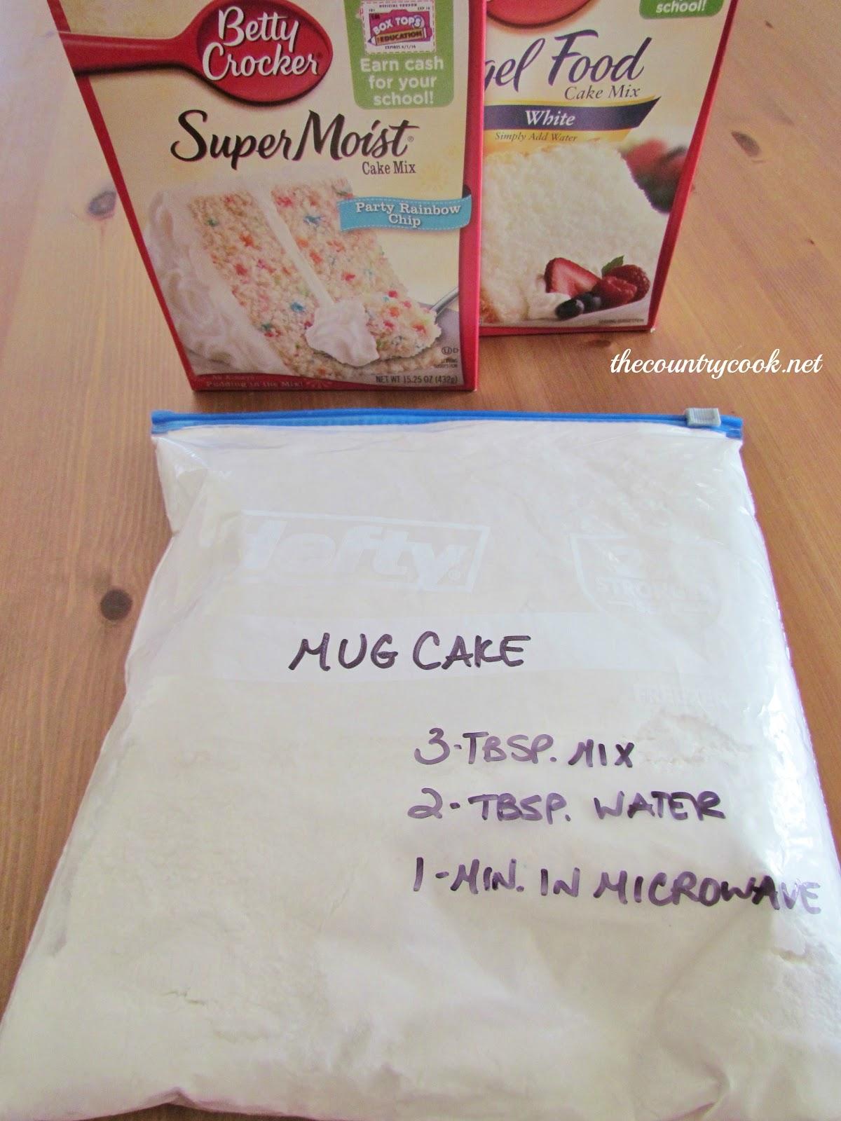 Mug Cake With Angel Food Cake Mix