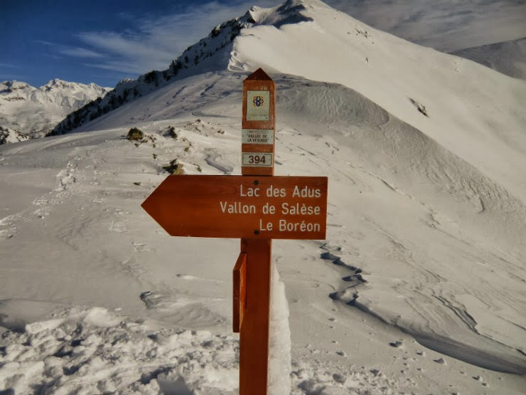 Snowshoeing in the Alpes Maritimes (Le Boreon)