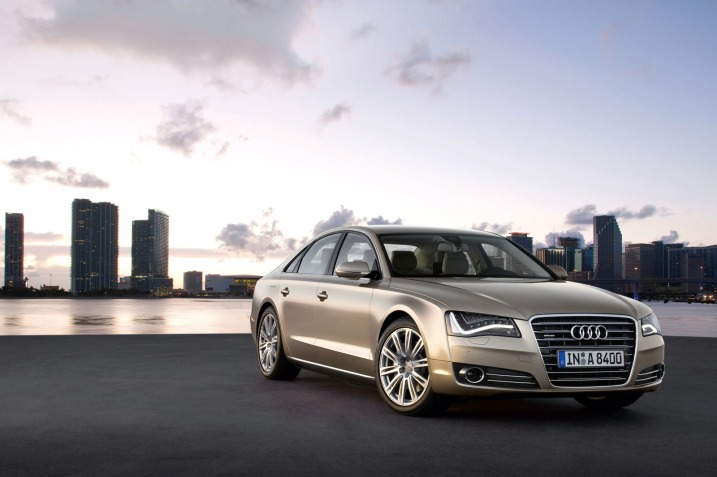 audi a8 wallpaper. 2011 Audi A8. Instrumentation