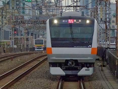 中央線 通勤特快 東京行き E233系(平日5本運行)