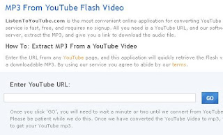 Mp3 from Youtube