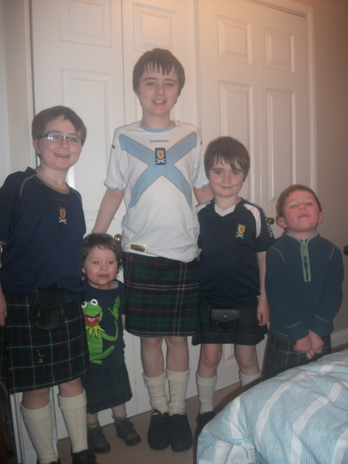 Life In My Houseful Of Boys A Celebration Of All Things Scottish