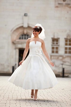 vestidos de novia vintage. inspiración años 50. - mis secretos de
