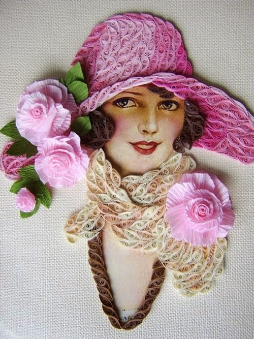 07-Eugenia-Evseeva-Quilling-Paper-&-Photo-Portraits-www-designstack-co
