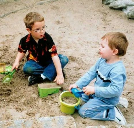 http://commons.wikimedia.org/wiki/File:Making_friends.jpg