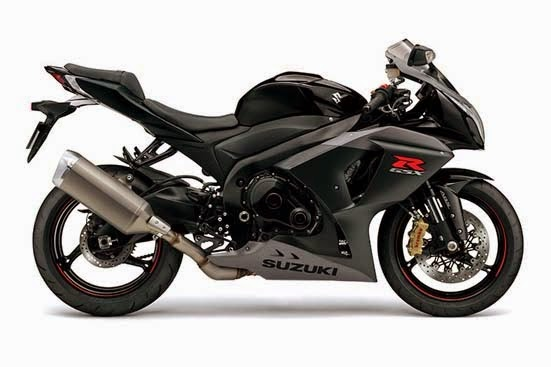 2015 Suzuki GSX-R1000 ABS Glass Sparkle Black