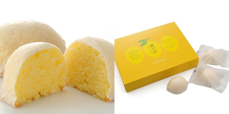 mini pastelitos de limón de Andersen