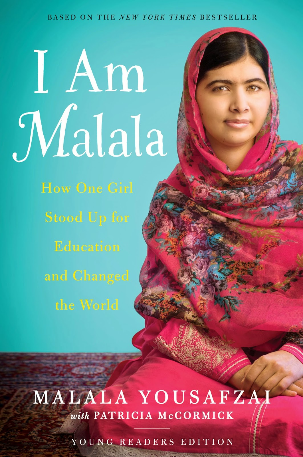 i am malala by malala yousafzai book cover