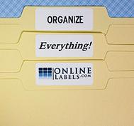 Online Labels.com | OrganizingMadeFun.com