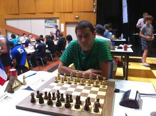 Le Roumain Vlad-Cristian Jianu (2560) © Chess & Strategy