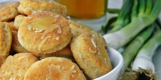 Recepti - Pogačice od sira i mladog luka