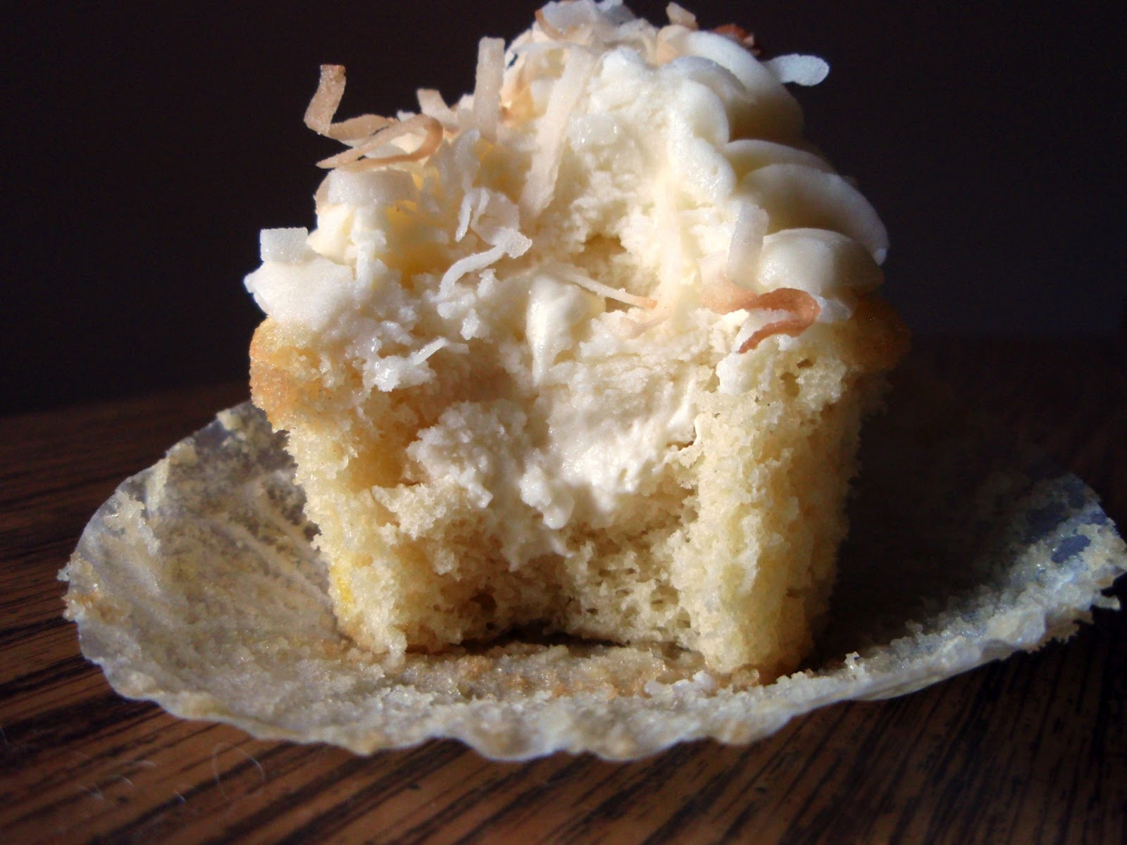 ... cream pie cupcakes. That, my friends, is what you've stumbled upon