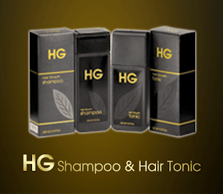HG Shampoo & Hair Tonic untuk pria