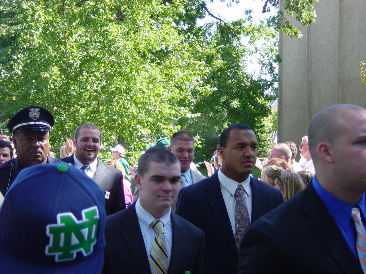 Notre Dame Team Walk - MSU