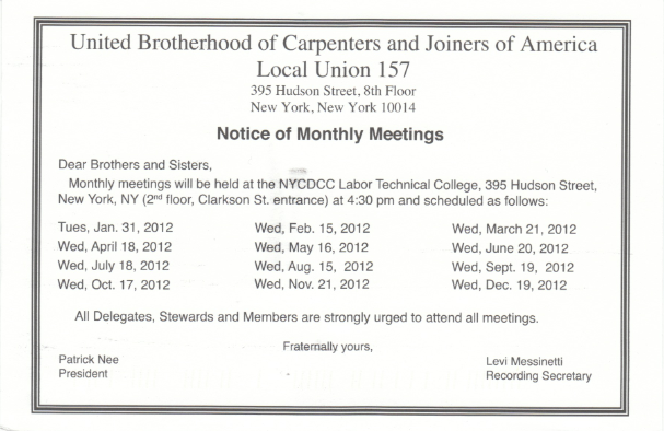 Local 157 blogspot january 2012 local 157 meeting notice fandeluxe Images